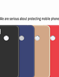 cheap -Case For Huawei Huawei P30 / Huawei P30 Pro / Huawei P Smart 2019 Frosted Back Cover Solid Colored Soft TPU