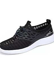 cheap -Men's Comfort Shoes Mesh Summer Casual Athletic Shoes Breathable Black / Blue / Gray