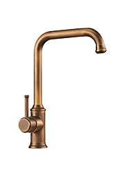 cheap -Vintage Kitchen faucet - Single Handle One Hole Antique Copper Tall / ­High Arc Other Antique Kitchen Taps