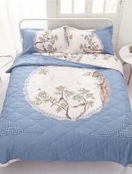 abordables -Confortable - 1 x Drap lit / 2 x Taie d'oreiller / 1 Couette Printemps & Automne / Automne / Toutes Saisons Polyester simple