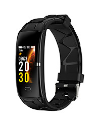 cheap -E68 Smart Watch BT 4.0 Fitness Tracker Support Notify & Heart Rate Monitor Waterproof Wristband for Samsung/HUAWEI/IPhone