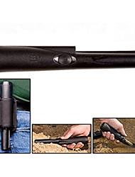 abordables -Détecteur de métaux à main pratique de haute précision - noir