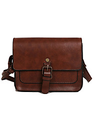 cheap -Women's Bags PU Leather / PU(Polyurethane) Crossbody Bag for Daily / Going out Black / Brown / Coffee / Fall & Winter