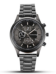 cheap -ogy men's steel belt watch black business dress quartz watch