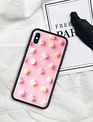 cheap -Case For iPhone XS Max XR XS X Back Case Soft Cover TPU Pink cotton candy  Soft TPU for iPhone 8 Plus 7 Plus 7 6 Plus 6 8