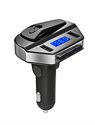 cheap -V6 FM Transmitter Bluetooth Handsfree Car Kit MP3 Player U disk LCD Display 3.1A Quick USB Charger Adapter