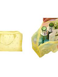 """Недорогие -Ткань """"Оксфорд"""" ПВХ Молнии Сумка для ручной клади Сплошной цвет Повседневные Зеленый / Желтый / Розовый / Наступила зима"""