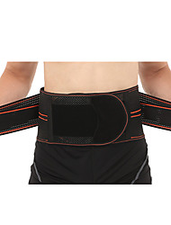 cheap -Lumbar Belt / Lower Back Support for Gym Workout Eases pain Thermal / Warm Pain Relief Poly / Cotton Blend 1 Piece Daily Casual Orange Blue