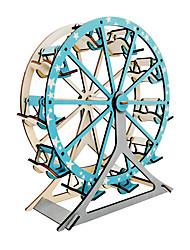 abordables -Puzzles en bois Jeux de Logique & Casse-tête Grande roue Fait à la main Interaction parent-enfant En bois 1 pcs Enfant Adulte Jouet Cadeau