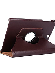 cheap -Case For Samsung Galaxy Tab A 9.7 360° Rotation / Shockproof / with Stand Full Body Cases Solid Colored Hard PU Leather