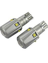 cheap -2PCS Porsche / BMW / Audi LED Bulb T10 Car LED Marker Light W5W Constant Circuit Width Voltage CAN-bus T10 LED Bulb