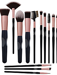 cheap -Professional Makeup Brushes 16pcs Full Coverage Comfy Artificial Fibre Brush Wooden / Bamboo for Makeup Brush