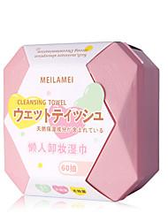 abordables -Éponges de maquillage Jeune Maquillage 60 pcs Microfibre Nettoyage / Visage Doux / Moderne Fête de Mariage / Usage quotidien Maquillage Quotidien Cosmétique Accessoires de Toilettage