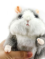 cheap -1 pcs Stuffed Animal Talking Stuffed Animals Plush Toy Plush Toys Plush Dolls Stuffed Animal Plush Toy Hamster Animals Cute Other Imaginative Play, Stocking, Great Birthday Gifts Party Favor Supplies