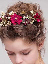 cheap -Women's Fashion Cute Imitation Pearl Alloy Floral