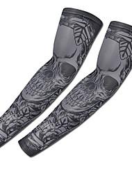cheap -2 pcs Temporary Tattoos Relaxed Fit / UV Protection / Ergonomic Design brachium Lycra Sleeve Tattoos