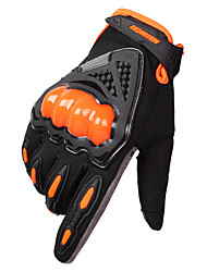 cheap -Men Winter Touch Screen Telefingers Gloves Anti-skid Anti-shock Breathable Off-road Cycling Equipment