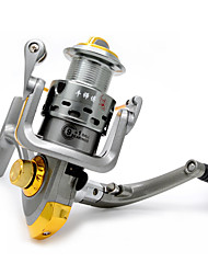 cheap -Fishing Reel Spinning Reel 5.5:1 Gear Ratio+13 Ball Bearings Hand Orientation Exchangable Sea Fishing / Bait Casting / Ice Fishing - RX5000 / Jigging Fishing / Freshwater Fishing / Carp Fishing