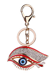 cheap -Keychain Eyes Fashion Ring Jewelry Evil Eye Red For Causal Daily