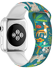 cheap -Silica gel motion Smartwatch Band for Apple Watch Series 4/3/2/1 iwatch Strap
