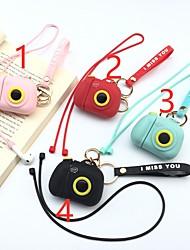 cheap -iphoneApple AirPods camera bag cartoon bag silicone case earphone cover
