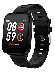 cheap -K10 Smart Watch BT Fitness Tracker Support Notify & Heart Rate Monitor Compatible Samsung/Sony Android Mobiles & IPhone