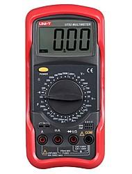 Недорогие -Цифровой мультиметр uni-t ut52 Портативный вольтметр-тестер измеритель частоты переменного / постоянного тока Цифровой мультиметр-тестер напряжения