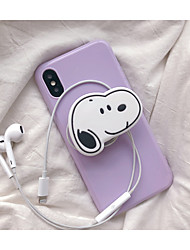 cheap -Case For Apple iPhone XR / iPhone XS Max / iPhone X with Stand / Pattern Back Cover 3D Cartoon Soft TPU