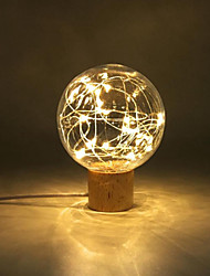 cheap -3D Print Ball Lamp LED Night Light for Home Christmas Decoration Table Lamp