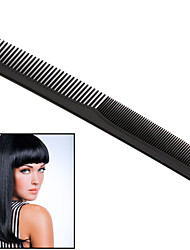 cheap -1 pc/set Black Professional Combs Hairdressing New Tail Comb Two Anti Static Comb Hair Cutting Comb