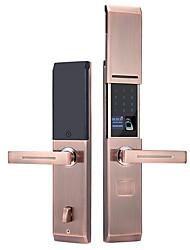 cheap -Factory OEM RX0832 Aluminium alloy lock / Fingerprint Lock / Intelligent Lock Smart Home Security System Fingerprint unlocking / Password unlocking / APP unlocking Home / Office Security Door