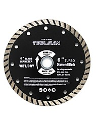 abordables -Toolman Lame de scie circulaire, ajustement universel 6 pour maçonnerie sèche