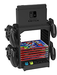 cheap -Stand Kits / Handle bracket For Nintendo Switch ,  Creative Stand Kits / Handle bracket PVC(PolyVinyl Chloride) 1 pcs unit