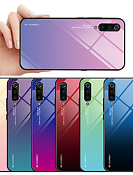 Недорогие -Кейс для Назначение Xiaomi Xiaomi Pocophone F1 / Xiaomi Mi Max 3 / Xiaomi Mi 8 С узором Кейс на заднюю панель Слова / выражения / Градиент цвета Мягкий Закаленное стекло / Xiaomi Mi 6