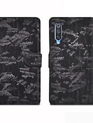 cheap -Case For Xiaomi Xiaomi Mi 9 / Xiaomi Mi 7 / Redmi Note 7 Card Holder / Magnetic / Auto Sleep / Wake Up Full Body Cases Solid Colored PU Leather