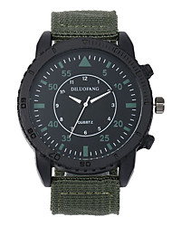 cheap -Men's Military Watch Navy Seal Watch Quartz Black / Blue / Brown 30 m Water Resistant / Waterproof Casual Watch Cool Analog Casual Fashion - Brown Green Blue One Year Battery Life / Large Dial
