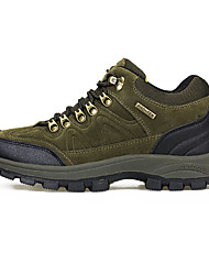 cheap -Men's Sneakers Hiking Shoes Waterproof Breathable Non-Skid Comfortable High-Top Hiking Climbing Walking Autumn / Fall Winter Brown Army Green