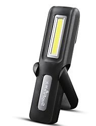 Недорогие -Supfire G6 Светодиодные фонари Аварийные лампы Освещение для рыбалки 140 lm Светодиодная лампа LED 1 излучатели 2 4.0 Режим освещения с батареей и USB кабелем Вращающийся Портативные Прочный
