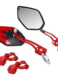 Недорогие -Зеркало заднего вида Рулевое зеркало на велосипед Регулируется Прочный Широкий угол заднего обзора Велоспорт мотоцикл Велоспорт Aluminum Alloy ПВХ Черный Золотой Красный