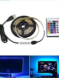 cheap -1 set USB LED Light Strips Flexible Tiktok Lights 2835 SMD 8mm DC5V Flexible LED Light Tape Ribbon 0.5M HDTV TV Desktop Screen Background Bias Lighting
