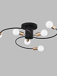 cheap -JSGYlights 6-Light 64 cm New Design Flush Mount Lights Metal Painted Finishes Country / Modern 110-120V / 220-240V / E26 / E27