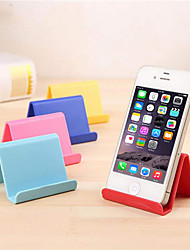Недорогие -подставка для мобильного телефона настольная поддержка пластиковая настольная подставка конфеты цвет мини портативный универсальный стенд подставка для смартфона