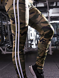 cheap -Women's High Rise Yoga Pants Fashion Elastane Running Dance Fitness Tights Leggings Bottoms Activewear Moisture Wicking Butt Lift Tummy Control Power Flex High Elasticity Skinny