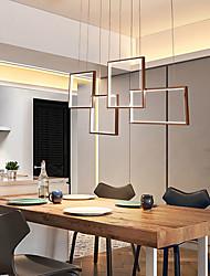 cheap -4-Light 100 cm Dimmable LED Pendant Light Aluminum Geometrical Painted Finishes LED Modern 110-120V 220-240V