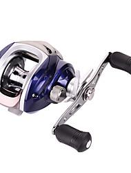 cheap -Fishing Reel / Ice Fishing Reel Baitcasting Reel 7.1:1 Gear Ratio+18 Ball Bearings Right-handed / Left-handed Sea Fishing / Fly Fishing / Bait Casting