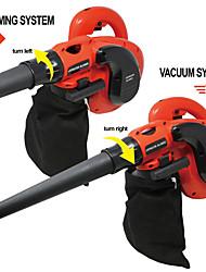 cheap -Toolman Heavy Duty 6 speed1200W 10A Corded Electric Leaf Sweeper Vacuum Blower
