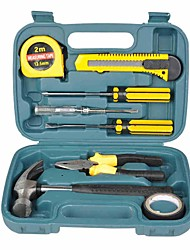 cheap -9 Pcs/Set Toolbox Multi-Purpose Household Hardware Tools Auto Repair Tools