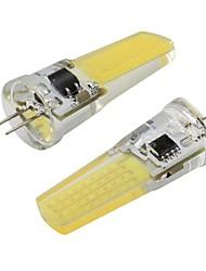Недорогие -2 шт. 3 Вт g4 bi-pin светодиодные фонари удара 450lm затемнения светодиодная лампа белый теплый белый для люстры подвесной светильник 110 В 220 В
