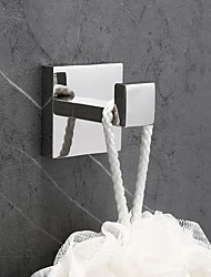 cheap -Robe Hook New Design / Creative Contemporary / Modern Metal 1pc - Bathroom Wall Mounted