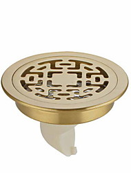 cheap -Drain New Design / Cool Contemporary Brass 1pc Floor Mounted